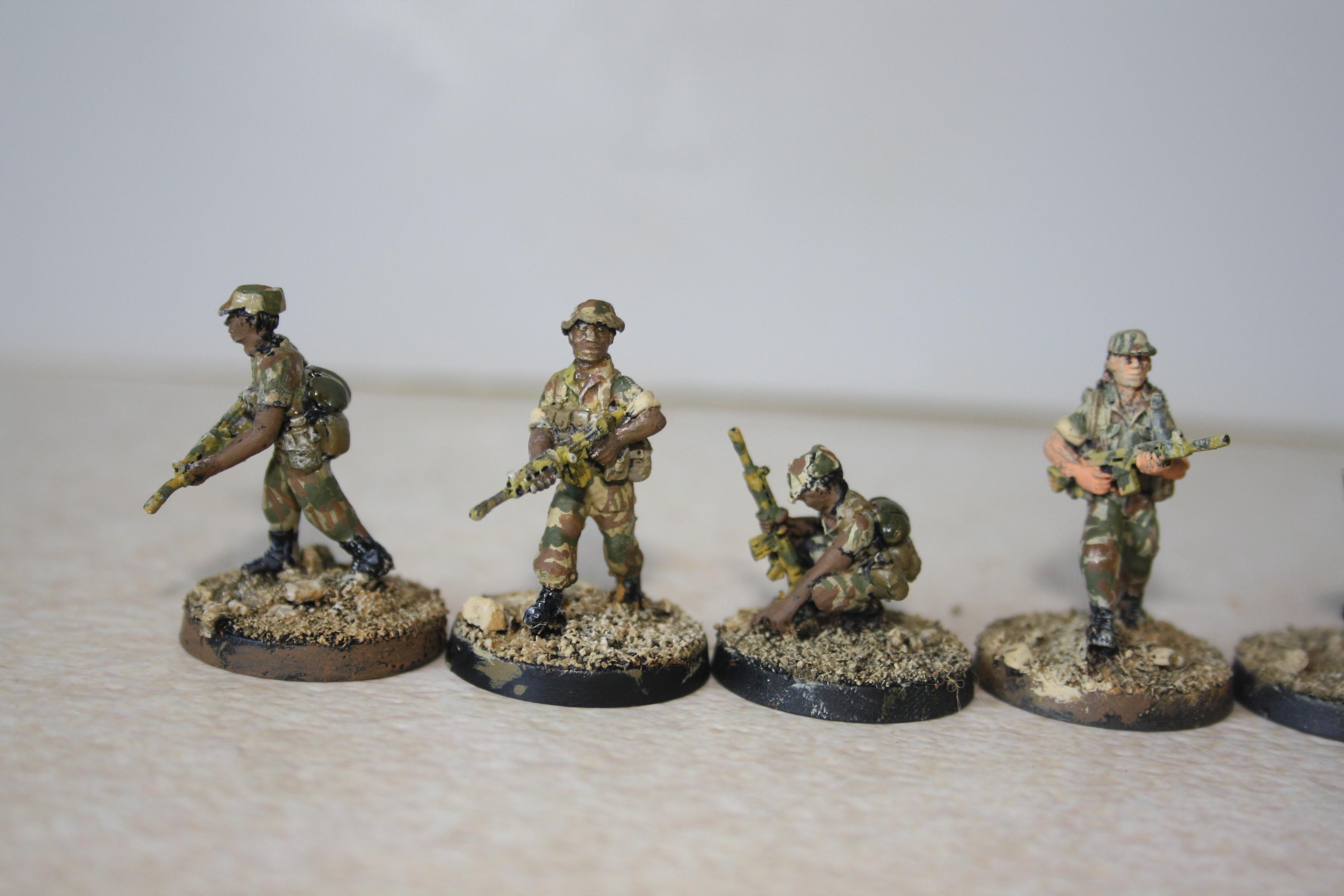 Rhodesian African Rifles Askari Rhodesian War Games