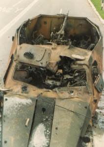 destroyed BTR 152