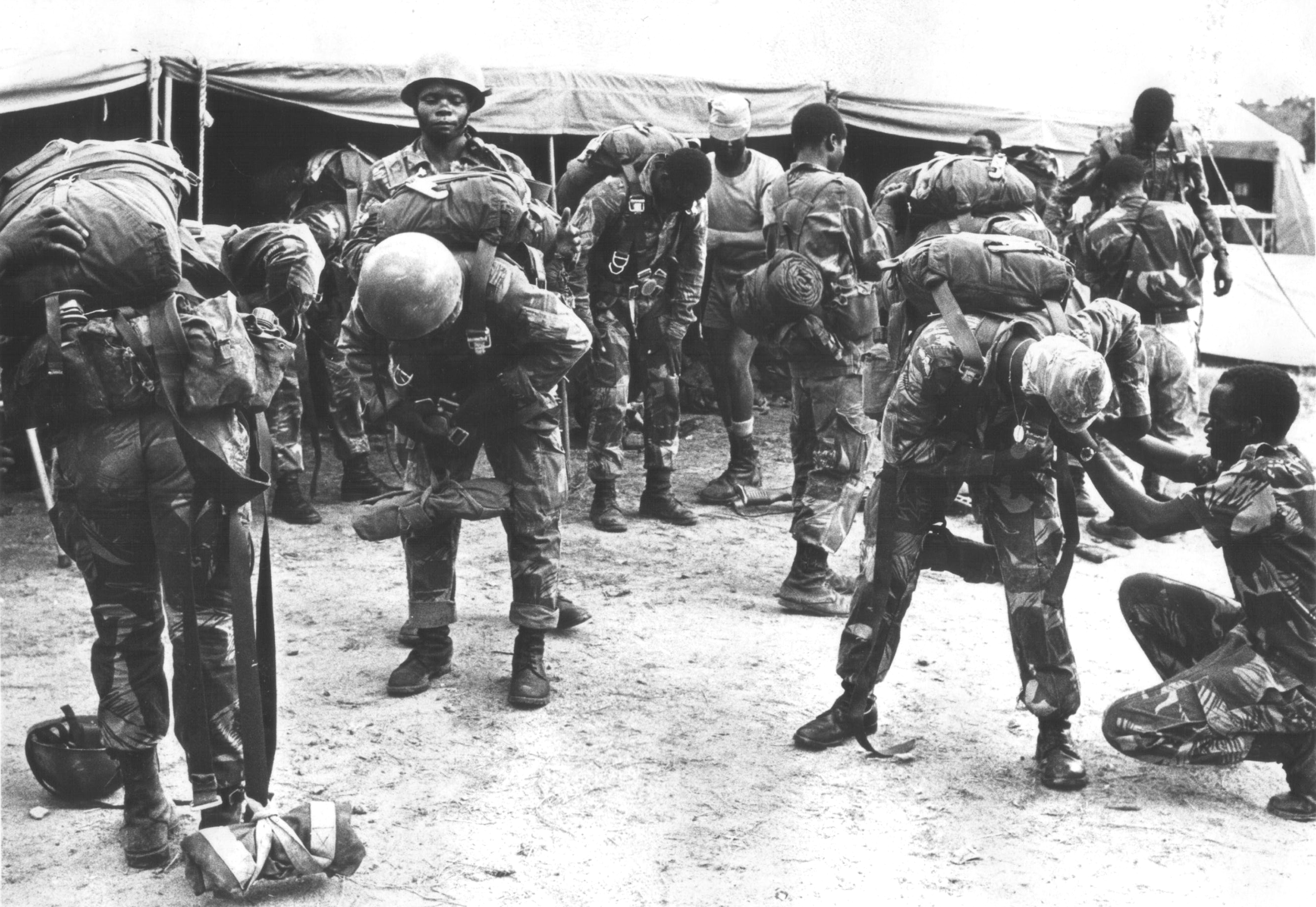 rar fire force rhodesian war games