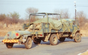 4.5 GS MP and water trailer rear