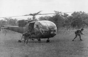 G Car Troops Deplane