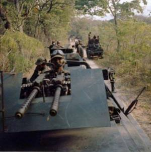Rhodesian Bush War Books