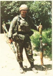 Lt Chomps Fleetwood, Lurlers Ridge, Entumbane.