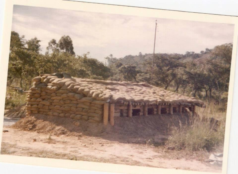 RHODESIAN ARTILLERY AT UMTALI Rhodesian War Games
