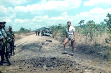 LM DC Rushing JS Whenman, Chimanda TTL, Rushinga, Landmine BSAP vehicle