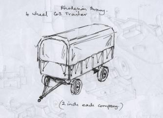 4 wheel trailer